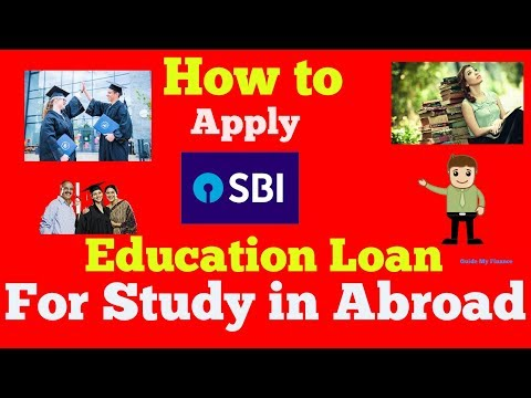 How to Apply Education Loan in SBI to Study Abroad | Detail on SBI Global Ed-Vantage Loan