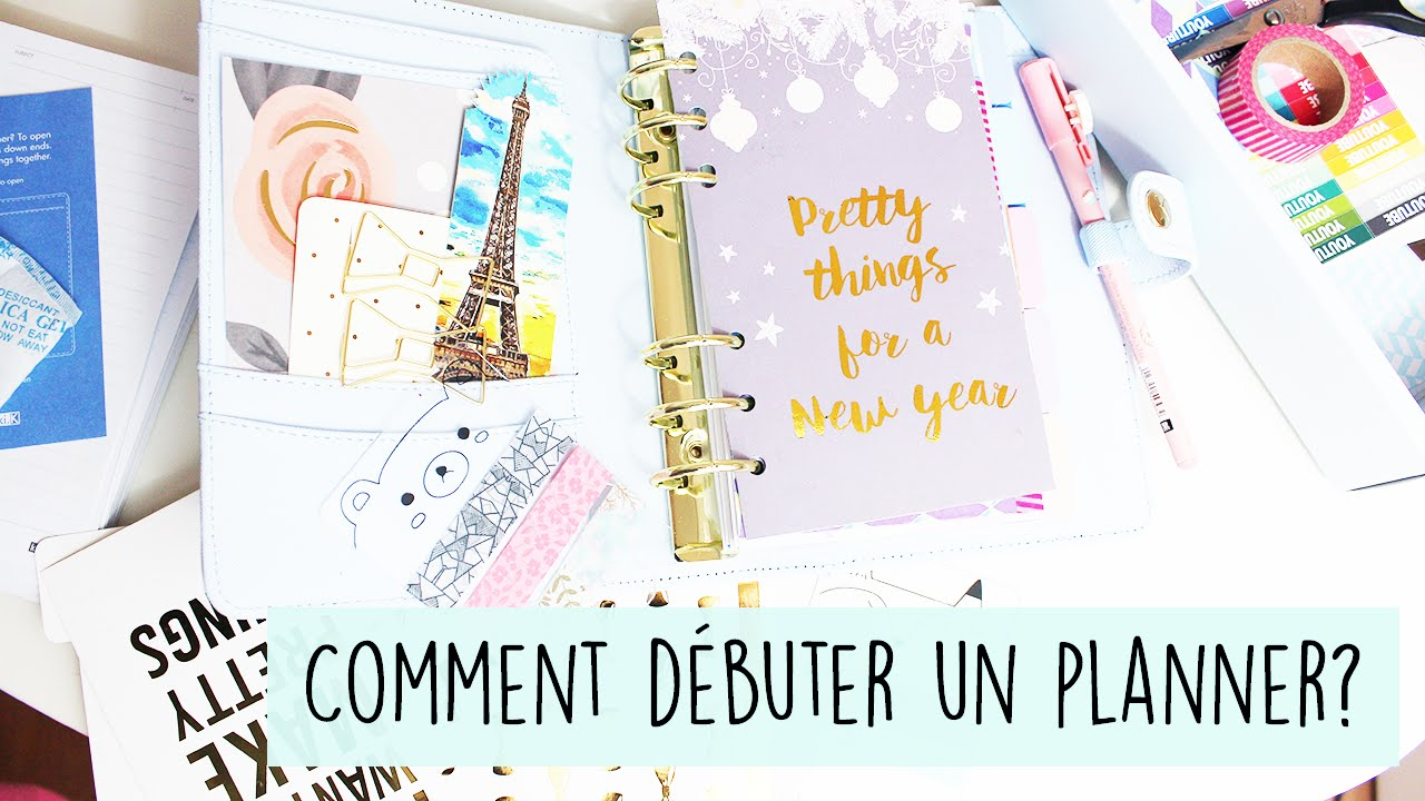 comment d buter un planner facilement personnaliser son agenda filofax kikki k youtube. Black Bedroom Furniture Sets. Home Design Ideas