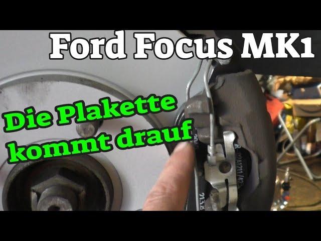 Die Plakette kommt drauf - Ford Focus MK1 - Teil 2