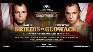 Briedis vs Glowacki - WBSS Season 2 Cruiserweight SF2