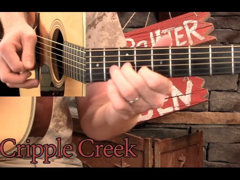 Cripple Creek Guitar Solo Lesson Youtube