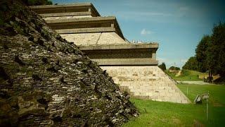 Pre-Columbian Pyramids part one The Grand Pyramid of Cholula