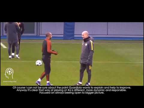 Pep Guardiola effect #2 - CDM position - Fernandinho