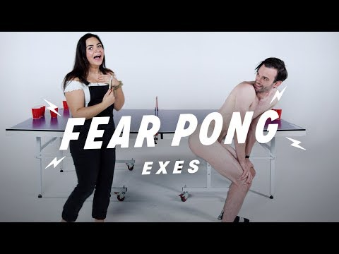 Exes Play Fear Pong (Hana vs. Jacob) | Fear Pong | Cut