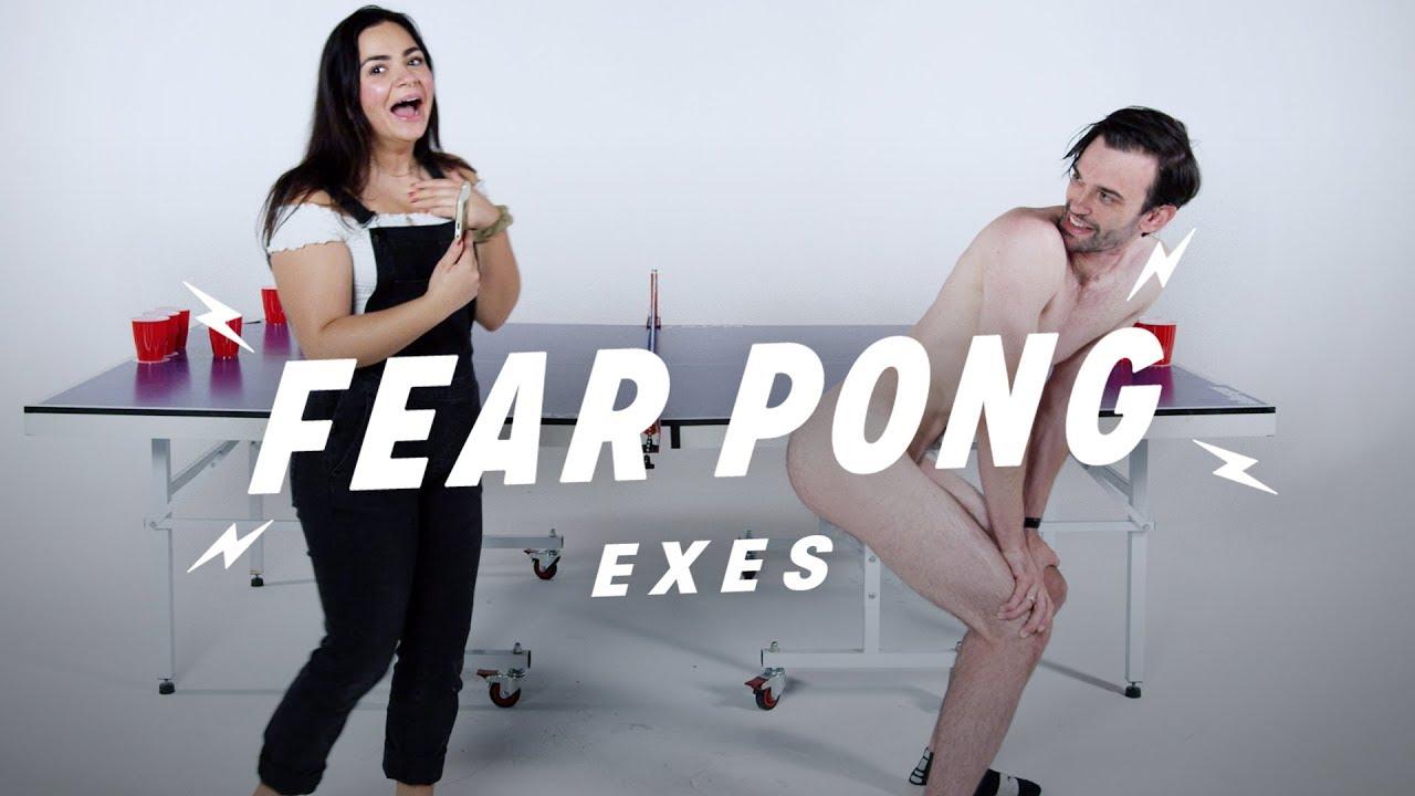 Exes Play Fear Pong (Hana vs. Jacob)   Fear Pong   Cut