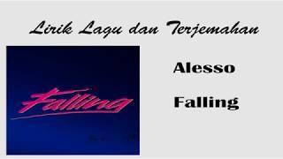 Lirik dan Terjemahan Alesso - Falling