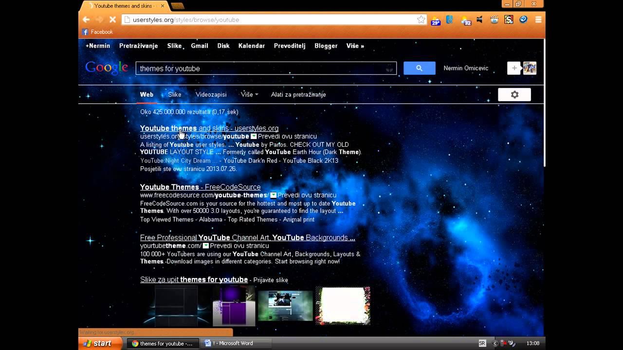 Themes za google - How To Make Theme For Youtube