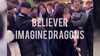 Believer-Imagine Dragons +2keys COVER by 나연 [창현 거리노래방] Video