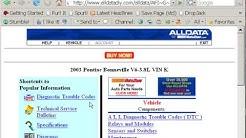 Auto Repair Online Help