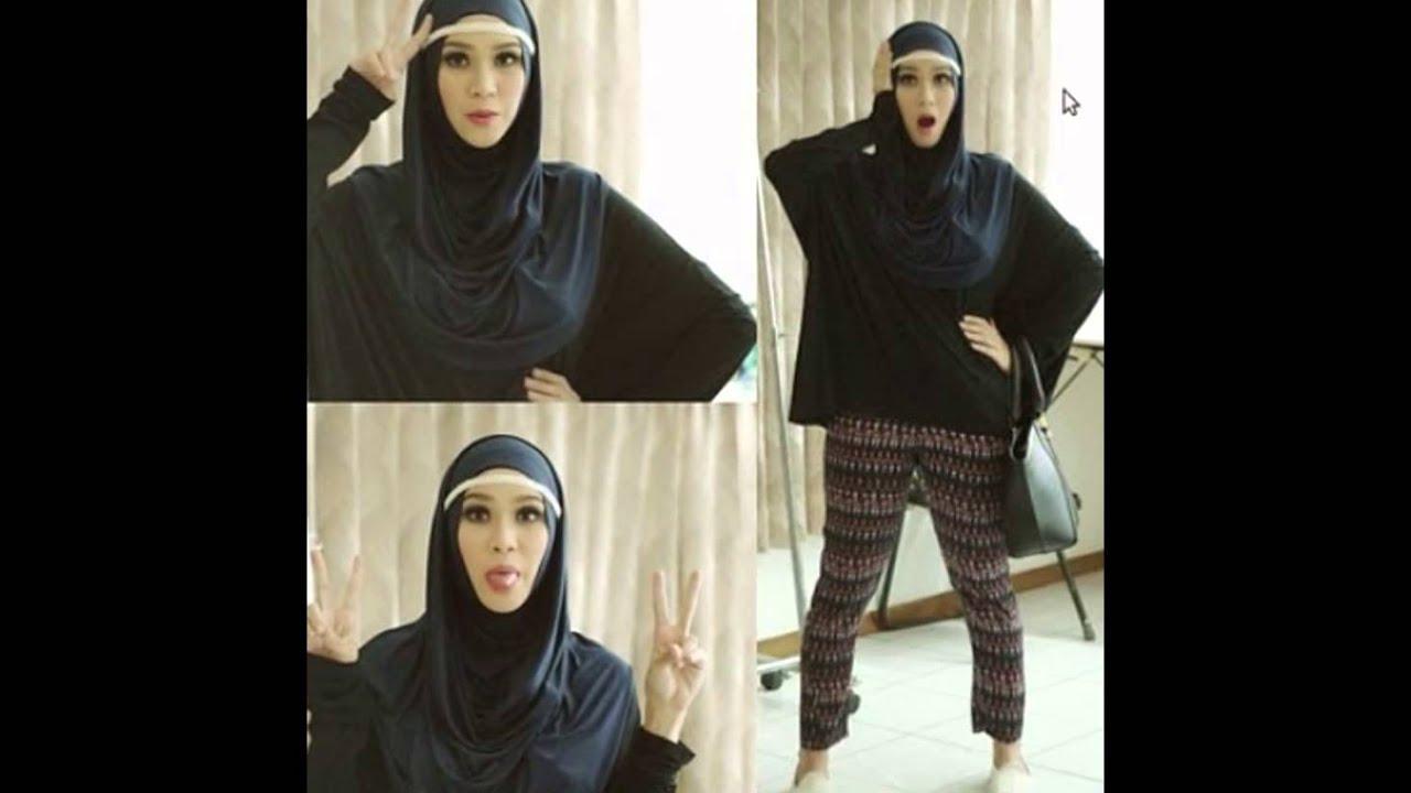 Tutorial memakai hijab pashmina ala zaskia adya mecca tutorial hijab Hijab fashion style dailymotion