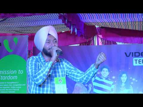 Videocon Telecom Young Manch 2 City Finale Amritsar Solo singing