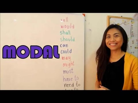 Modal คำกริยาช่วยในภาษาอังกฤษ Must, Have to, Should, Would, Can, Could, May, Might, etc.
