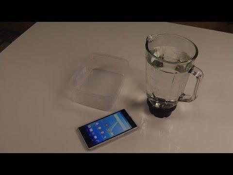 Sony Xperia Z1 - Water Test