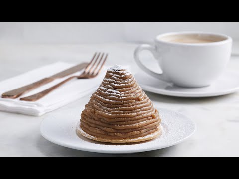 The Most Delicious Chestnut Dessert (Mont Blanc)