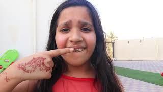شفا ما تريد تفرش أسنانها !!