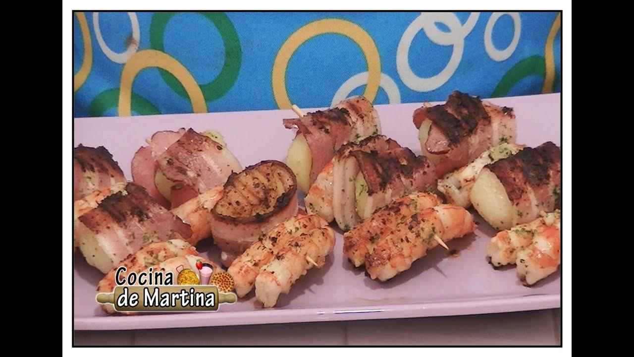 Brochetas veraniegas recetas de cocina cocina de for Cocina de martina
