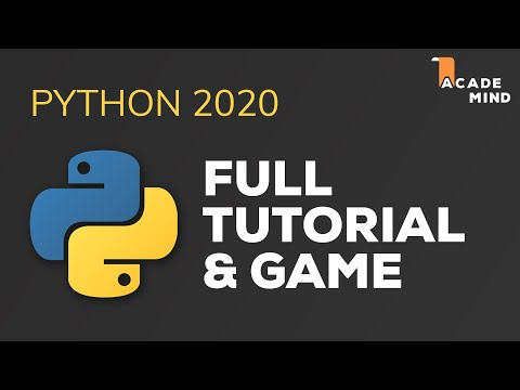 python-tutorial-for-beginners---crash-course-2020-|-build-a-game-with-python