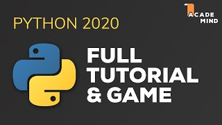 Python Tutorial for Beginners - Crash Course 2019 | Build a Game with Python