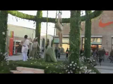 Inaugurazione Soratte Outlet Shopping Roma - YouTube