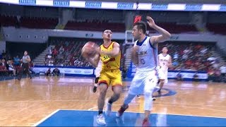 Jalalon drives all the way to the basket! | PBA Philippine Cup 2016 - 2017