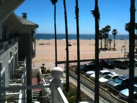 View from Shutters Hotel in Santa Monica, California
