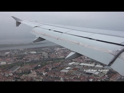 Flight TAP Portugal Airbus A319 Cristiano Ronaldo Madeira Airport to Lisbon