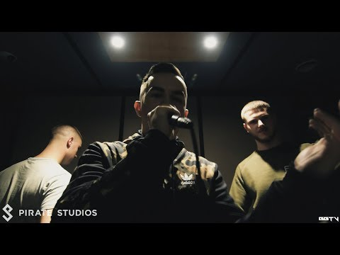 BBTV // Pirate Studio Grime Sessions - Dubzta & Minimal Razkid, Just Jax, Stanza, Livewire, & More