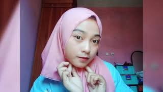 Tutorial hijab segi empat part 1