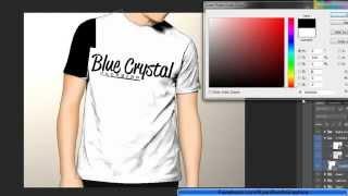 Logo Design In Adobe Illustrator   Blue Crystal   RyanBoothGraphics