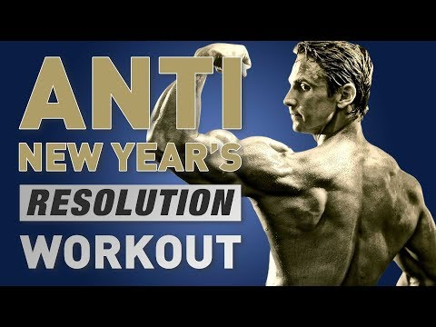 Anti New Year's Resolution Fat Burning Workout For Men (feat. David Morin)