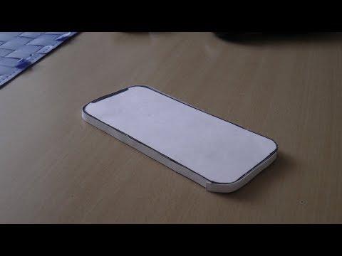 Как сделать iphone из бумаги