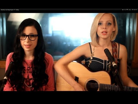 Taylor Swift - Begin Again - Official Music Video Cover - Madilyn Bailey & Caitlin Hart - on iTunes