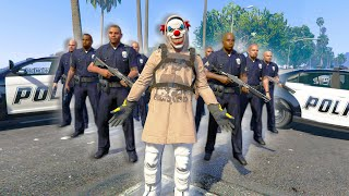 Waging WAR Against A MODDER And His ARMY OF COPS! *NOT FAIR!* | GTA 5 THUG LIFE #282