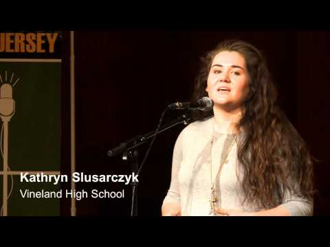 NJ Poetry Out Loud State Finals 2016 - Complete Broadcast
