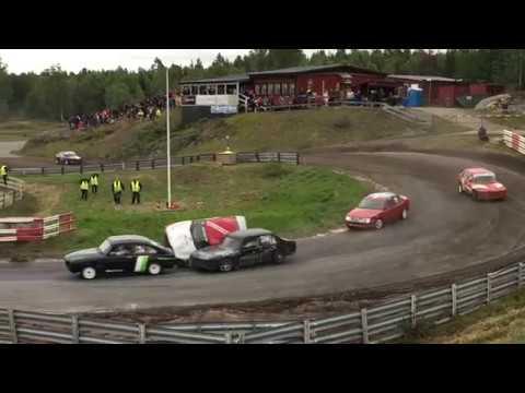 A-final Senior Haninge 2-dagars 2017 Folkrace