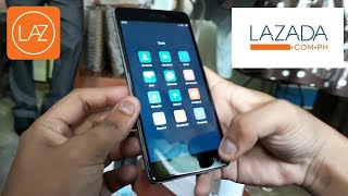 Xiaomi note 4x unboxing delivered by lazada
