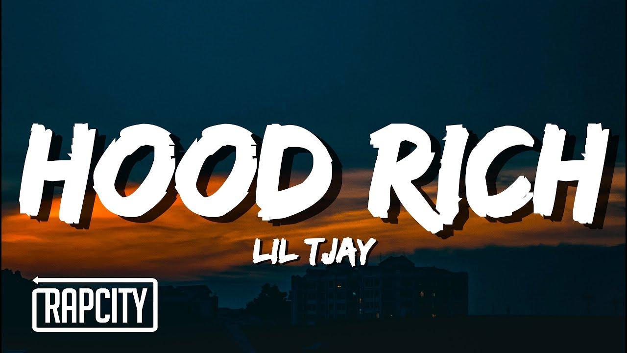 Lil Tjay - Hood Rich (Lyrics)