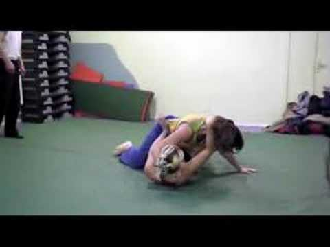Women's Wrestling. Submission Wrestling