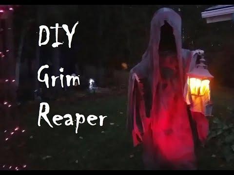DIY 7ft Grim Reaper Halloween Prop