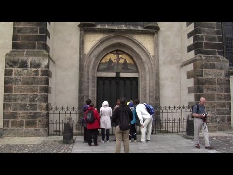 Germanyu0027s famous Wittenburg church to reopen after repairs & Germanyu0027s famous Wittenburg church to reopen after repairs - YouTube