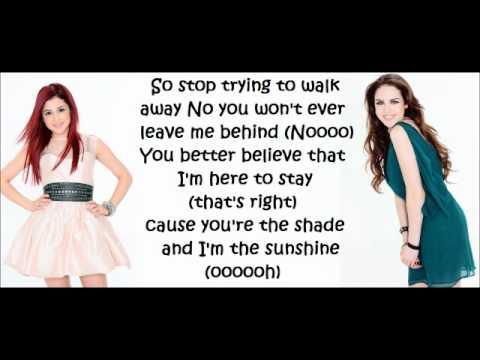 Ariana Grande & Elizabeth Gillies - Give it up - Lyrics