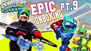 Arkeyan Crossbow Epic Unboxing Surprise (Skylanders Swap Force Battle Pack)