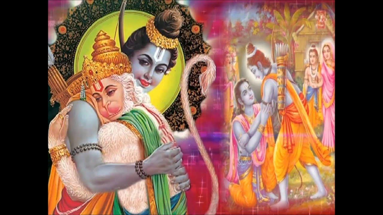 hanuman chalisa hindi english lyrics mahendra kapoor full hd video song youtube