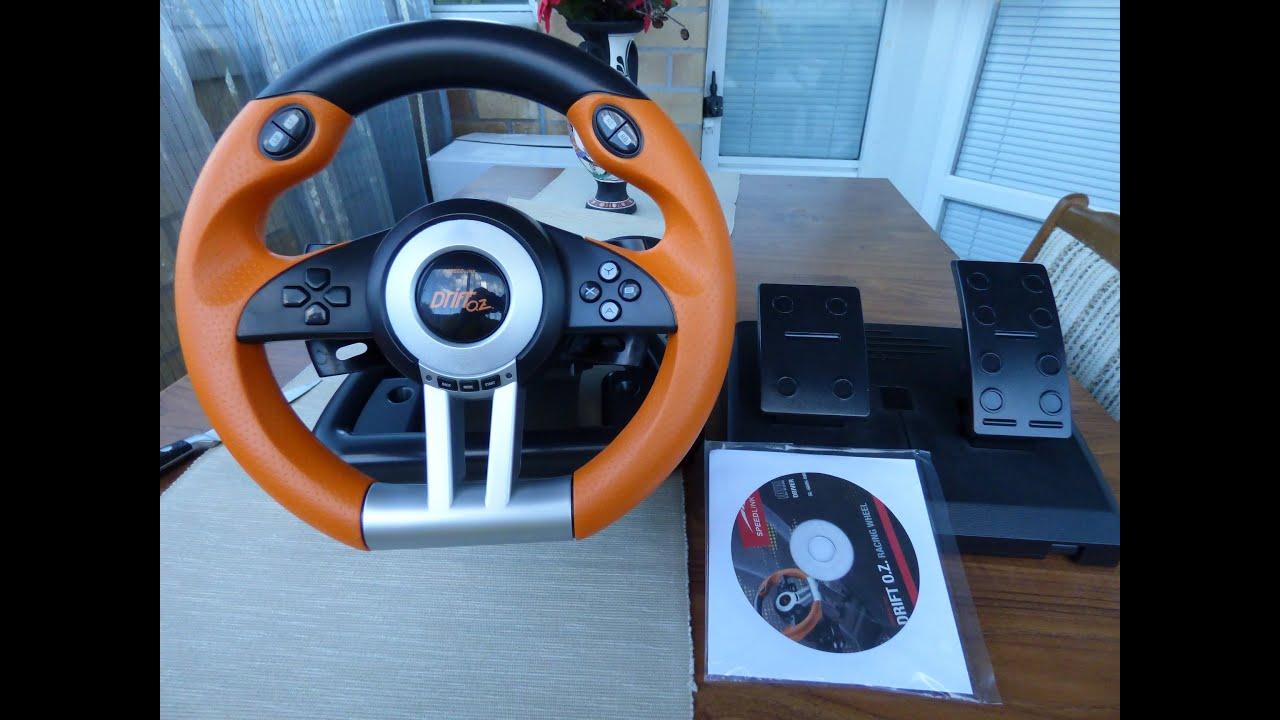 SPEEDLINK DRIFT O.Z. RACING WHEEL DRIVERS UPDATE