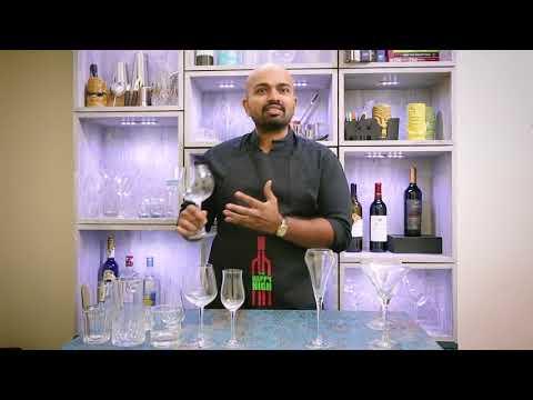 Glassware For The Home Bar, Indian Sommelier Explains