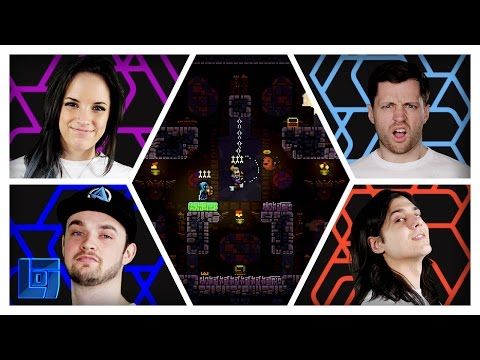 Towerfall Ascension: 2v2 w/ Spencerfc, Ali A, Mantrousee and AshleyMariee | Legends of Gaming
