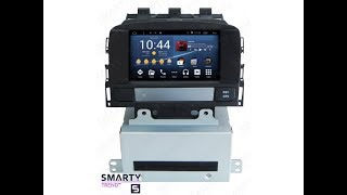 The SMARTY Trend head unit for Opel Astra J (2010-2014).