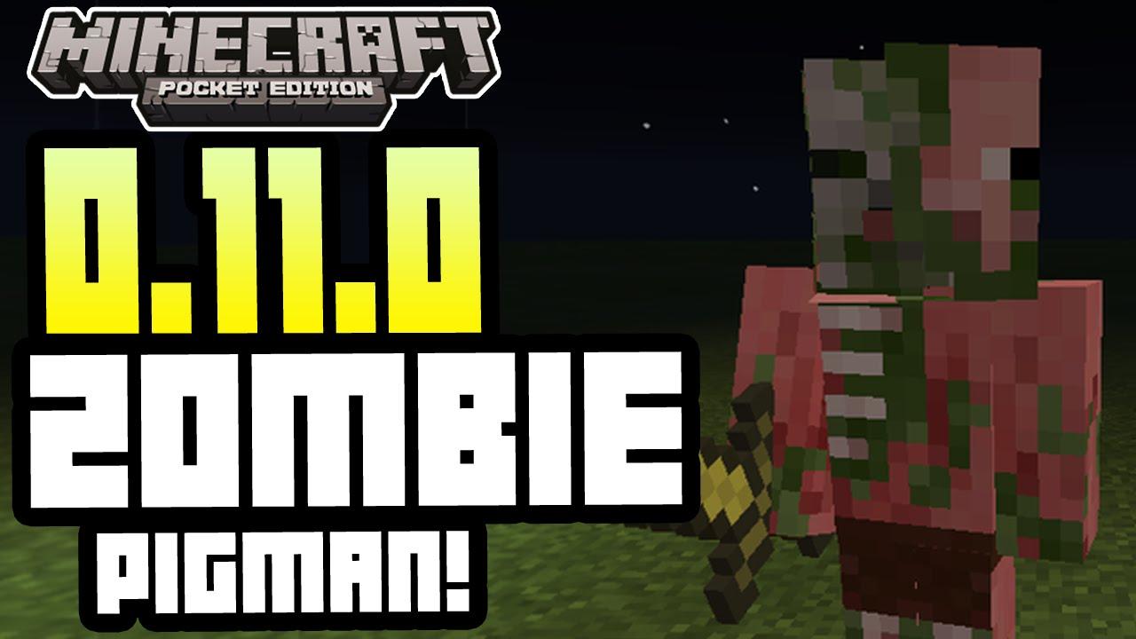 Minecraft Pocket Edition - 9.9.9 UPDATE! - ZOMBIE PIGMAN! + FEATURES +  SKINS INFO!
