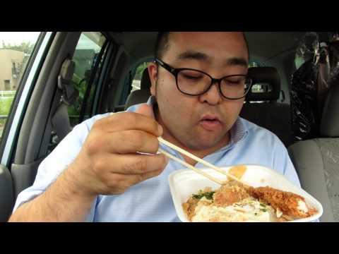 厚切りロースカツ丼 イカフライ クリームコロッケ