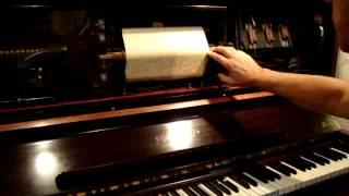 Baby Face (Cara de niña), Fox trot de Davis/Akst en Pianola por Horacio Asborno desde RN, Argentina